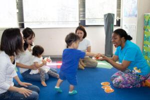 親子で参加する Baby English Time で英語に触れよう