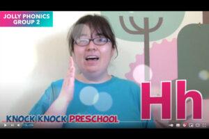 Jolly Phonics を使って発音練習 Group 2: c,k,e,h,r,m,d